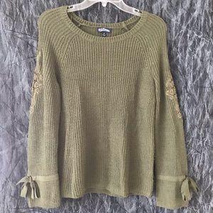 Freshman green sweater